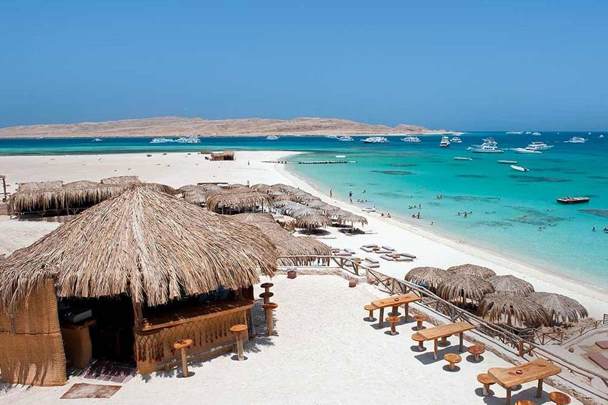 File photo of one of the beaches near the Marsa Alam resort in Egypt