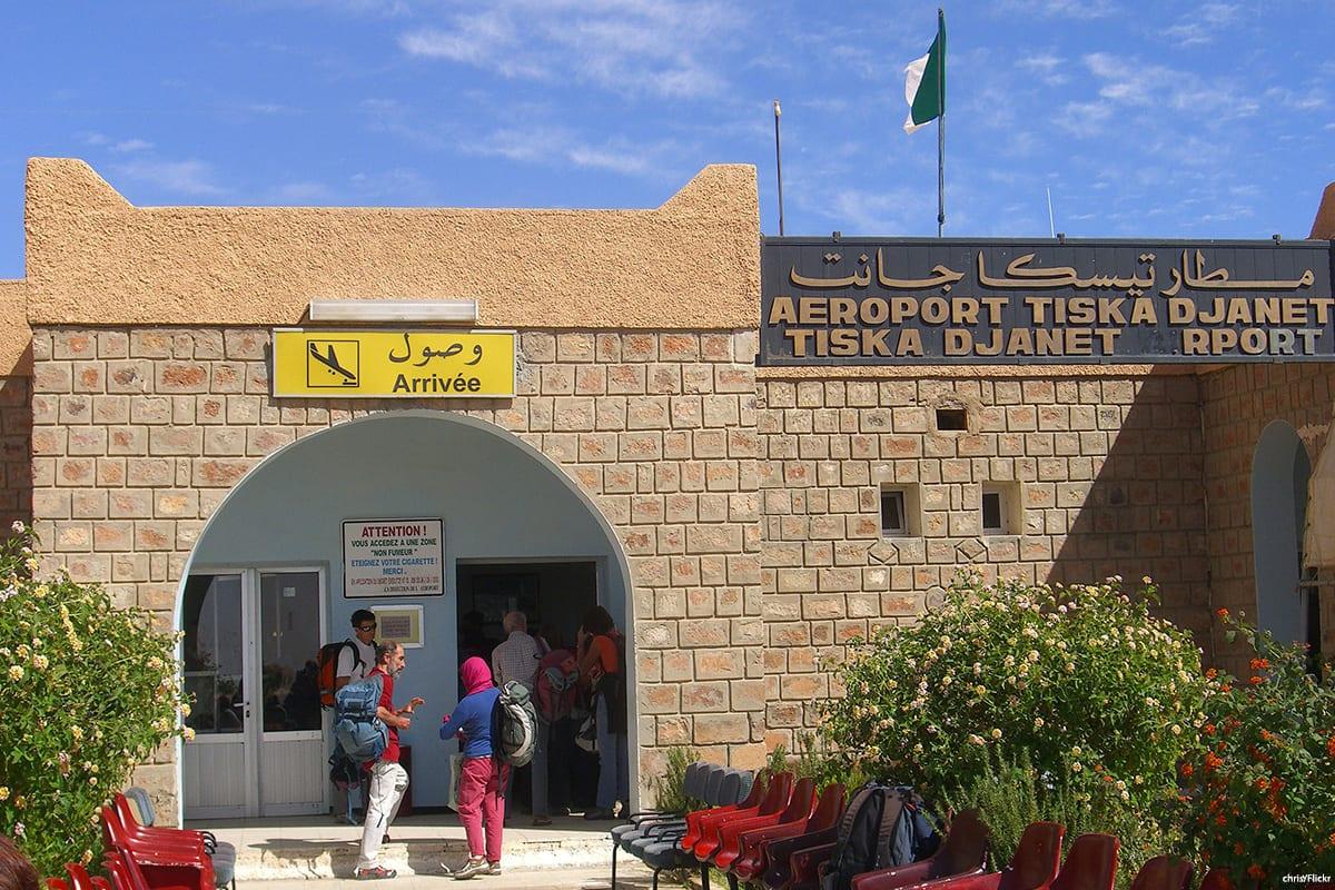 An airport in Algeria [Sarah Wilkinson/Twitter]