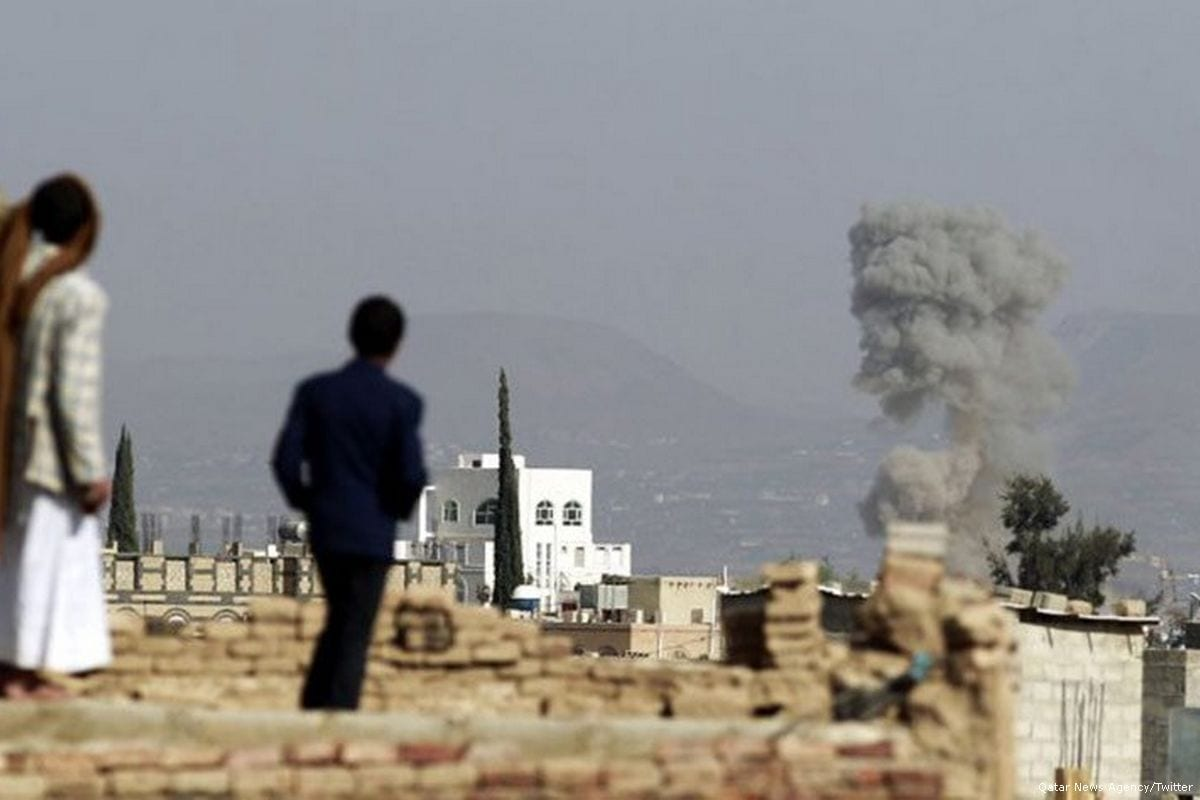 Airstrike by Saudi-led coalition kills 12, say Yemen officials