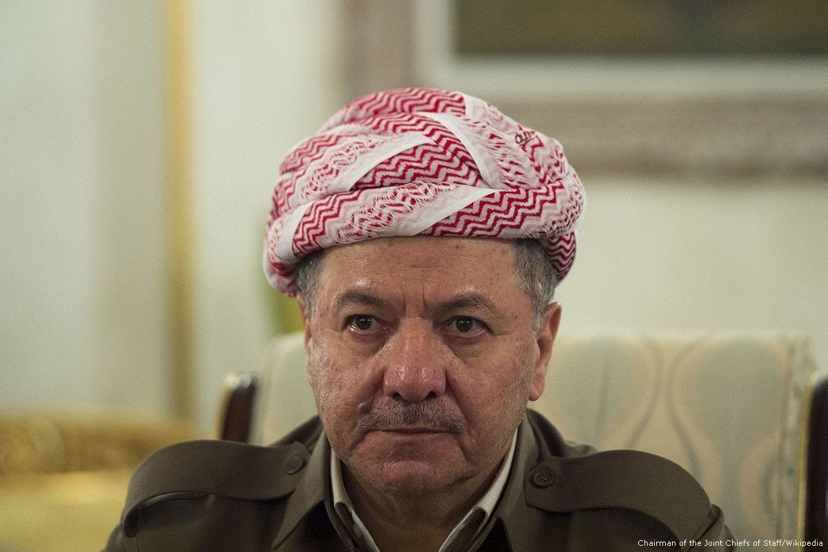 President of the regional government of Iraqi Kurdistan, Masoud Barzani [Chairman of the Joint Chiefs of Staff/Wikipedia]
