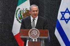Israeli Prime Minister Benjamin Netanyahu attends a press conference at Los Pinos Presidential residence in Mexico City, Mexico on 14 September 2017 [Daniel Cardenas/Anadolu Agency]