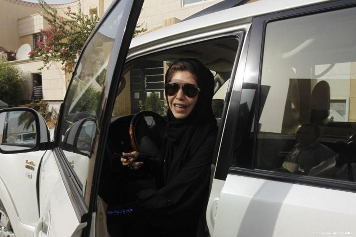 Saudi women rejoice after they were given right to drive [Hindustan Times/Twitter]