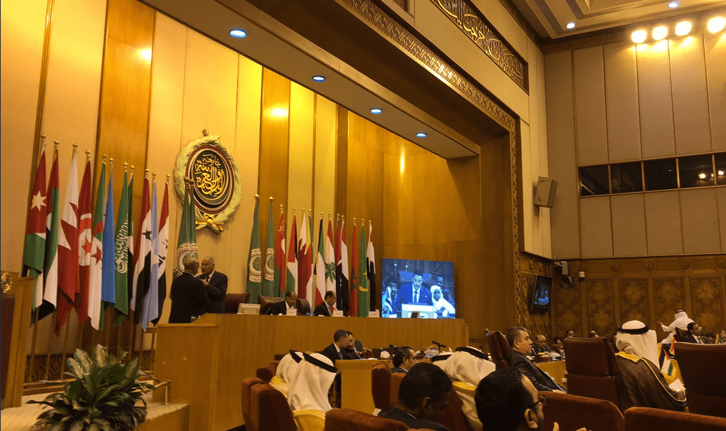 Japan talks MENA ties at Arab League