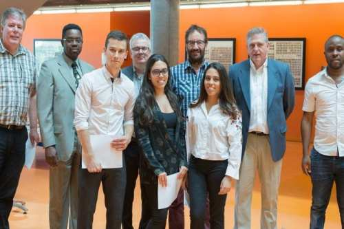 The Moroccan twins, Ibtisam and Ikram Benzian, were awarded two prizes for their graduation projects in electrical engineering at Polytechnique Montreal, Canada on August 2017