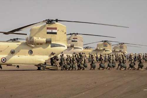 Egyptian army and military [File photo]