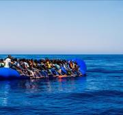 More than 100 migrants missing after boat sinks off Libya coast