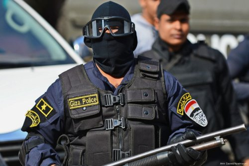 Egyptian security forces [Amr Sayed/Apaimages]