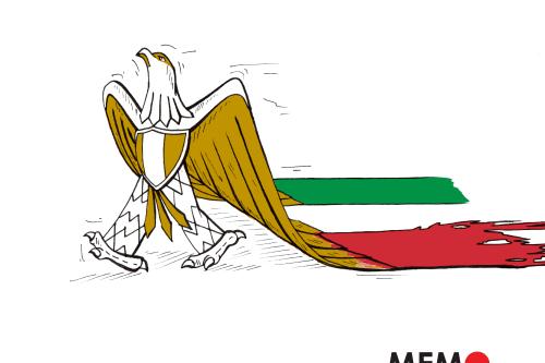 Giulio Regeni - Cartoon [Sarwar Ahmed/MiddleEastMonitor]