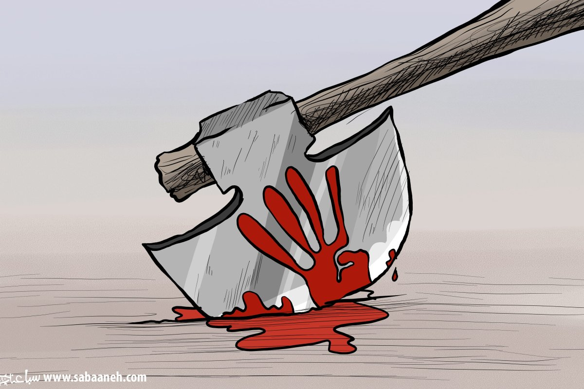 Rabaa Massacre - Cartoon [Sabaaneh/MiddleEastMonitor]