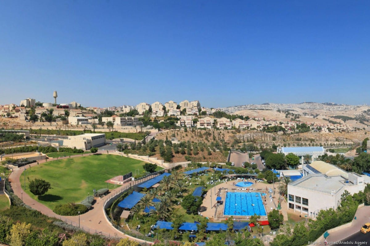 The illegal Israeli settlement of Ma'ale Adumim located seven kilometres from Jerusalem in the occupied West Bank. [Wikimedia]
