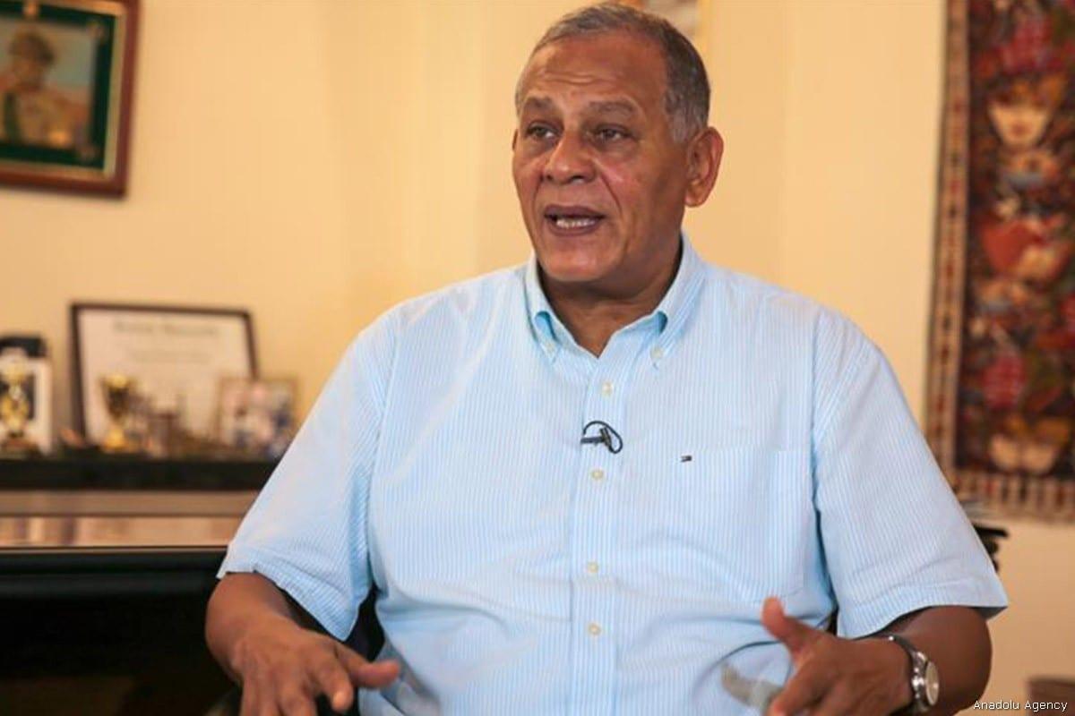 Mohamed Anwar Sadat, nephew of late Egyptian president Anwar Sadat