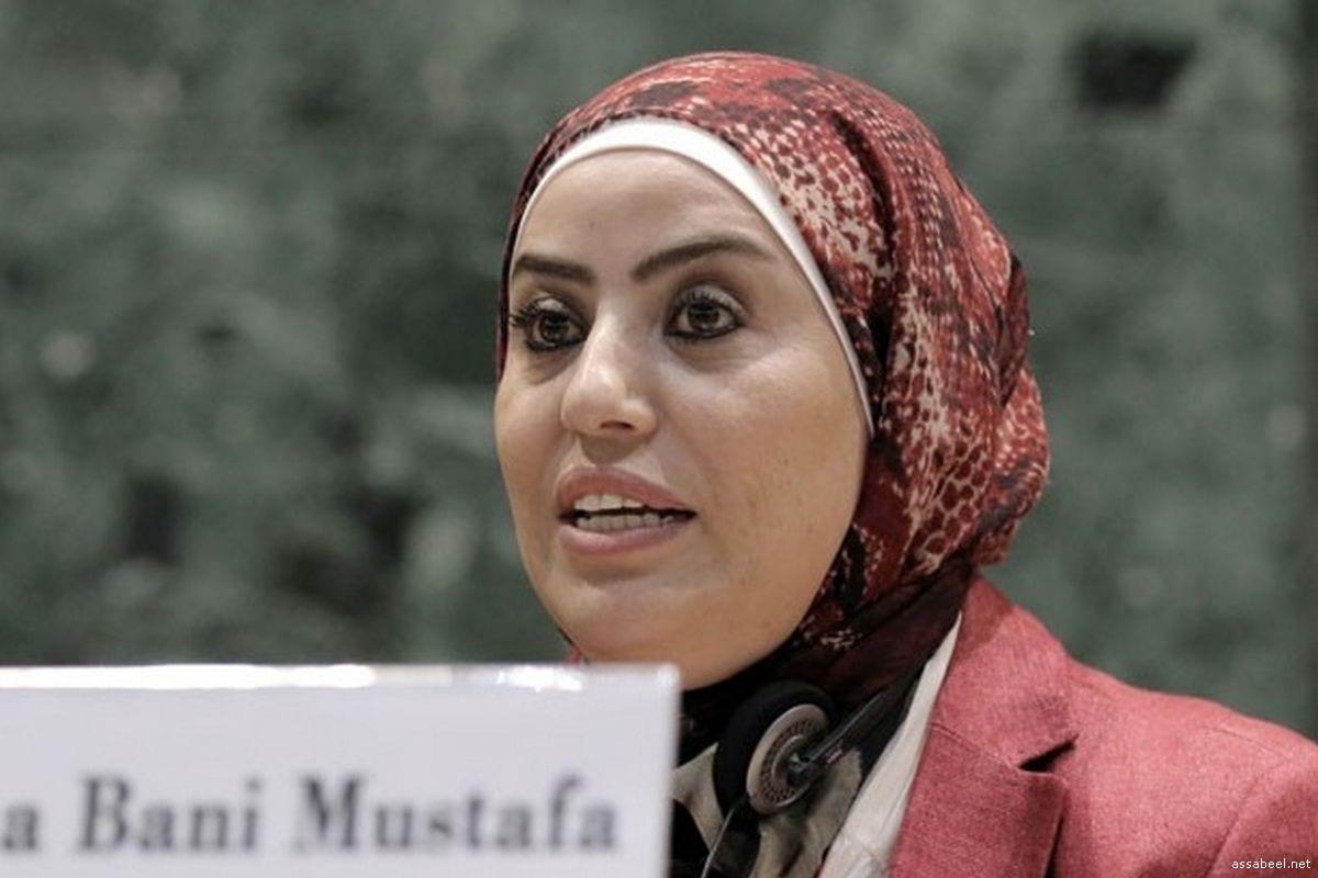 Jordanian MP, Wafa Bani Mustafa [Assabeel.net]