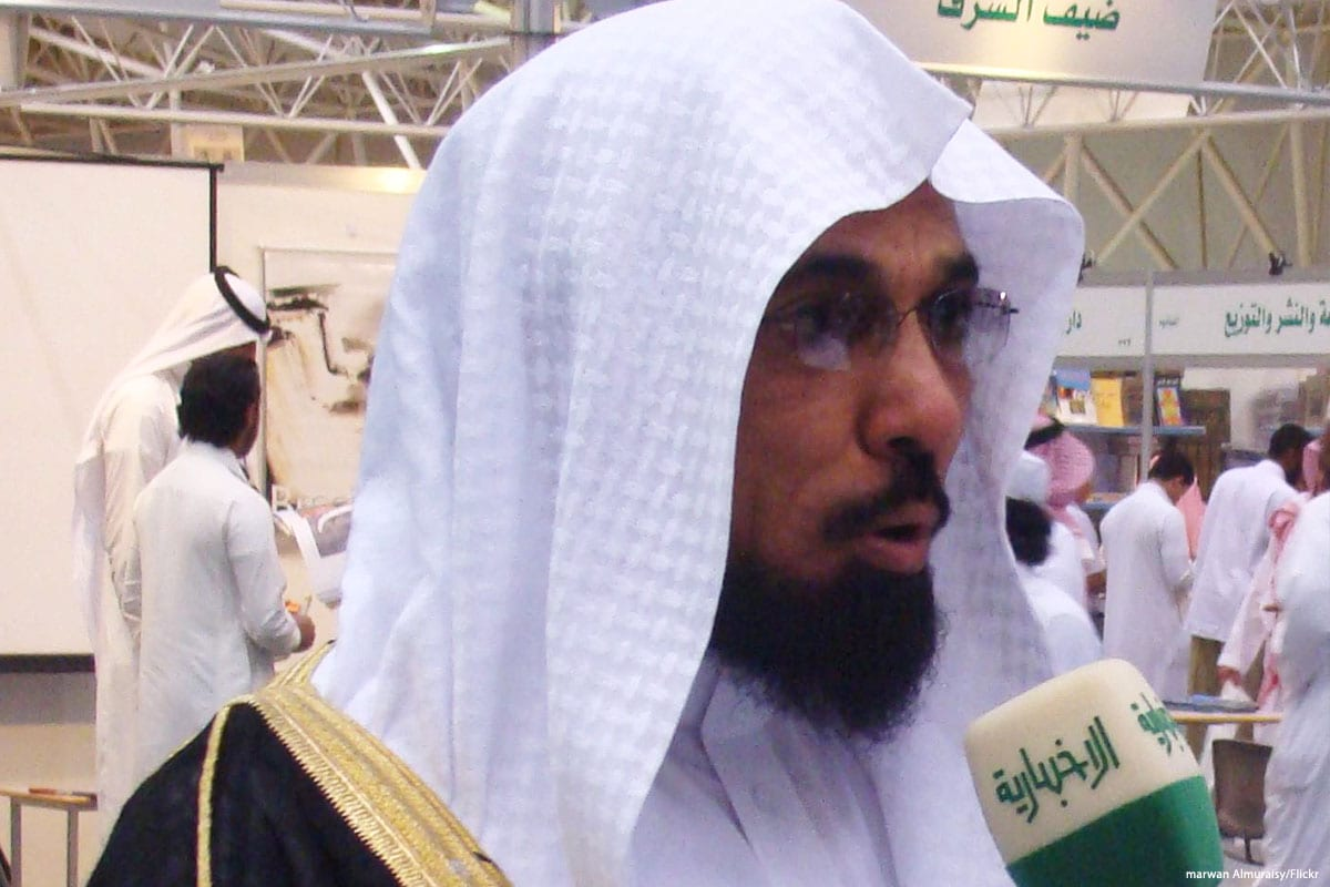 Salman Al-Ouda, prominent Saudi Islamist preacher who was arrested by Saudi forces [marwan Almuraisy/Flickr]