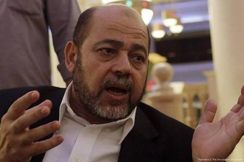 Senior Hamas official Musa Abu-Marzouq [Palestine & The Revolutions/Facebook]