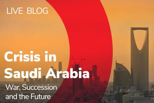 Live Blog from Crisis in Saudi Arabia: War, Succession and the Future