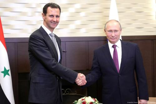 Assad and Putin discuss end game in Syria
