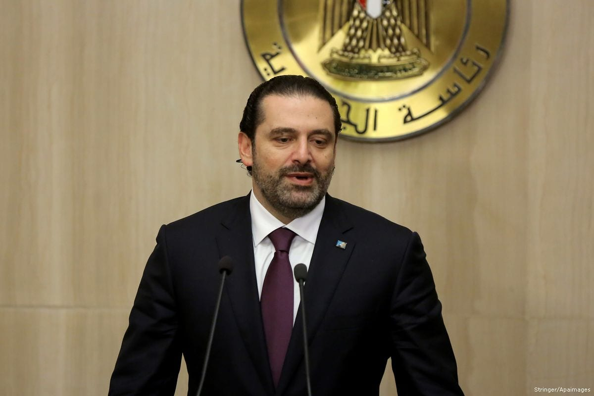 Lebanon PM Hariri rescinds resignation: cabinet statement