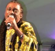 Caribbean folk singer Mighty Gabby sings for Palestine