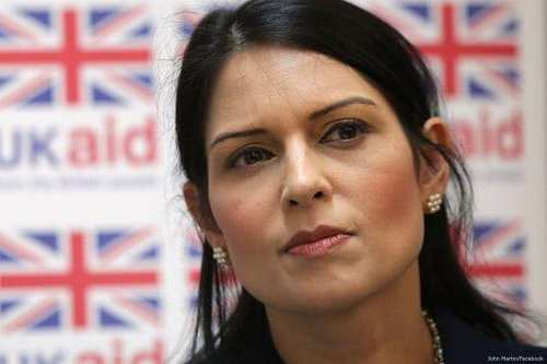 Priti Patel, Britain's International Development Secretary [John Martin/Facebook]