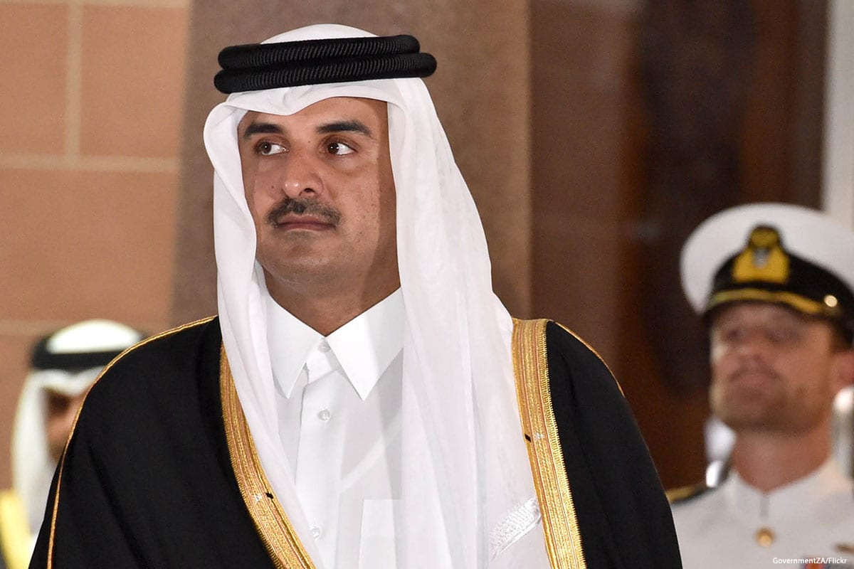 Emir of Qatar Sheikh Tamim bin Hamad Al Thani [GovernmentZA/Flickr]