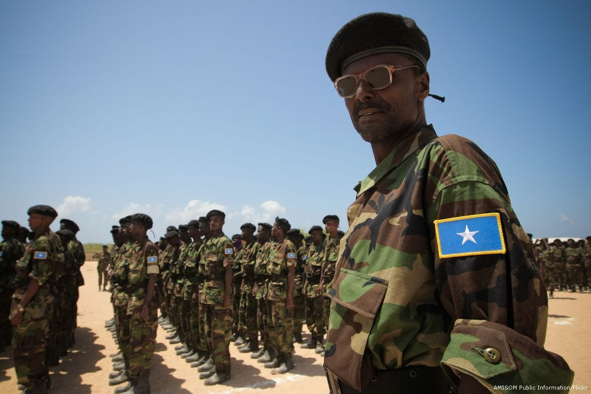 13 police officers killed in Somalia's capital