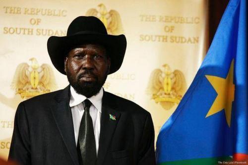 South Sudanese President Silva Kiir [Tîto Dáu Lúiz/Facebook]