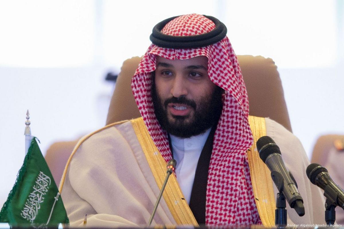 Crown Prince and Defence Minister of Saudi Arabia Mohammed bin Salman Al Saud In Riyadh, Saudi Arabia [Bandar Algaloud/Anadolu Agency]