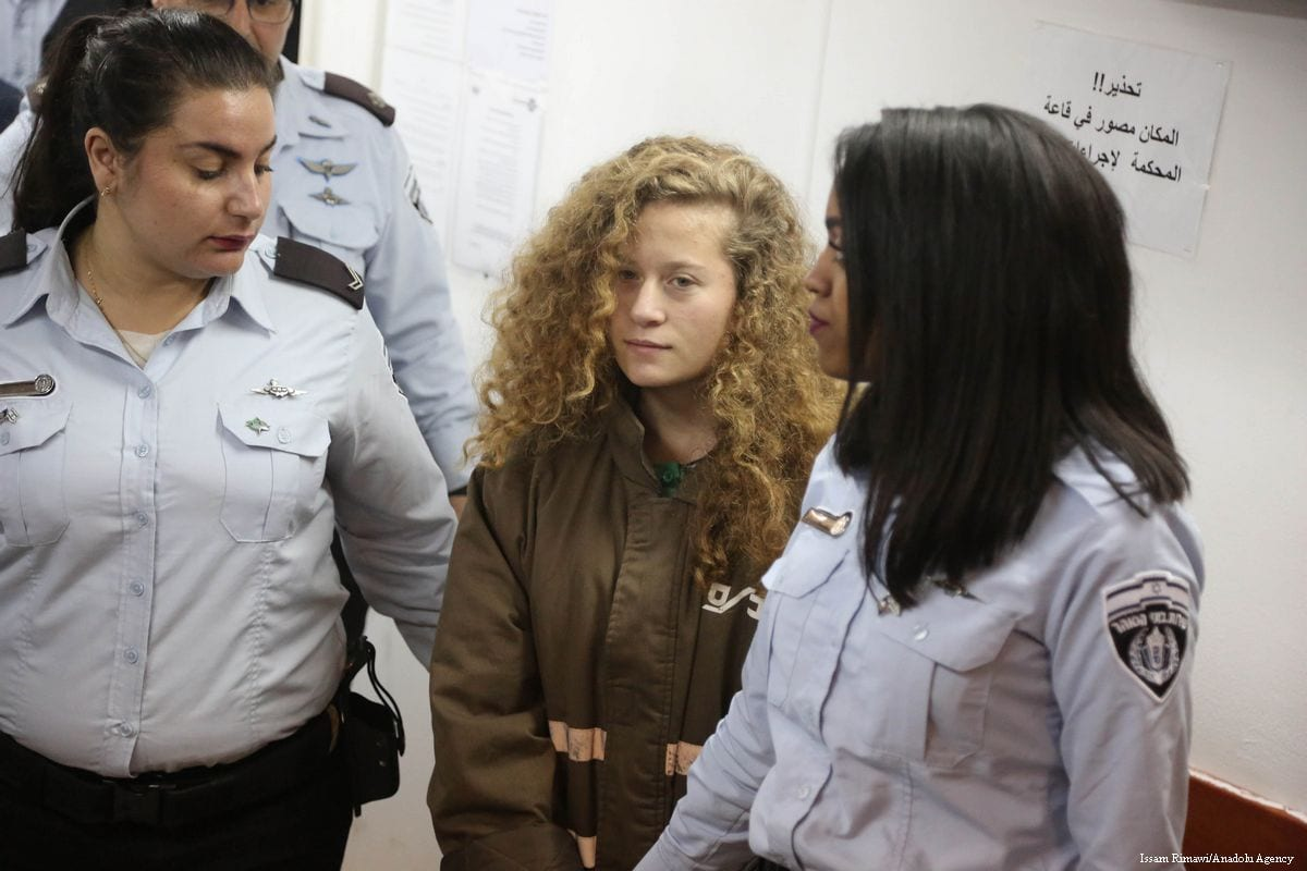 Palestinian slap video teen Ahed Tamimi to remain in custody until trial