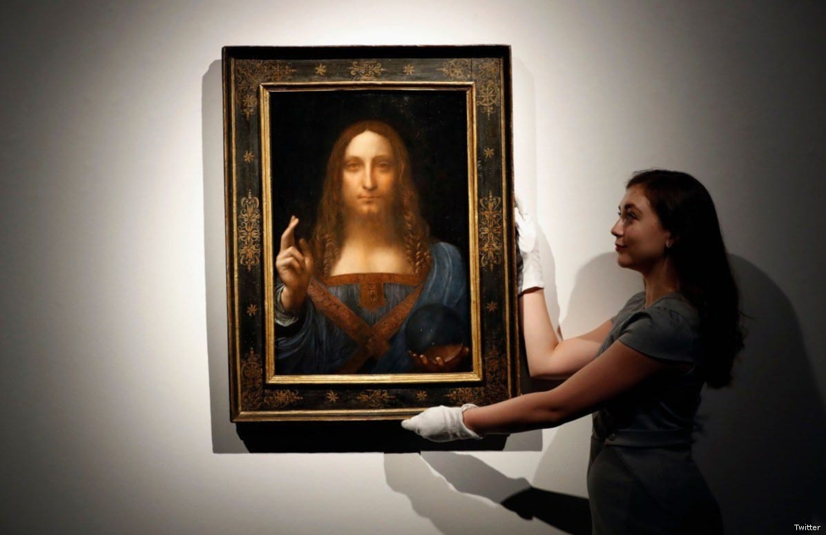 Saudi Crown Prince Buys $450 Million Da Vinci Painting Of Jesus Christ [Twitter]