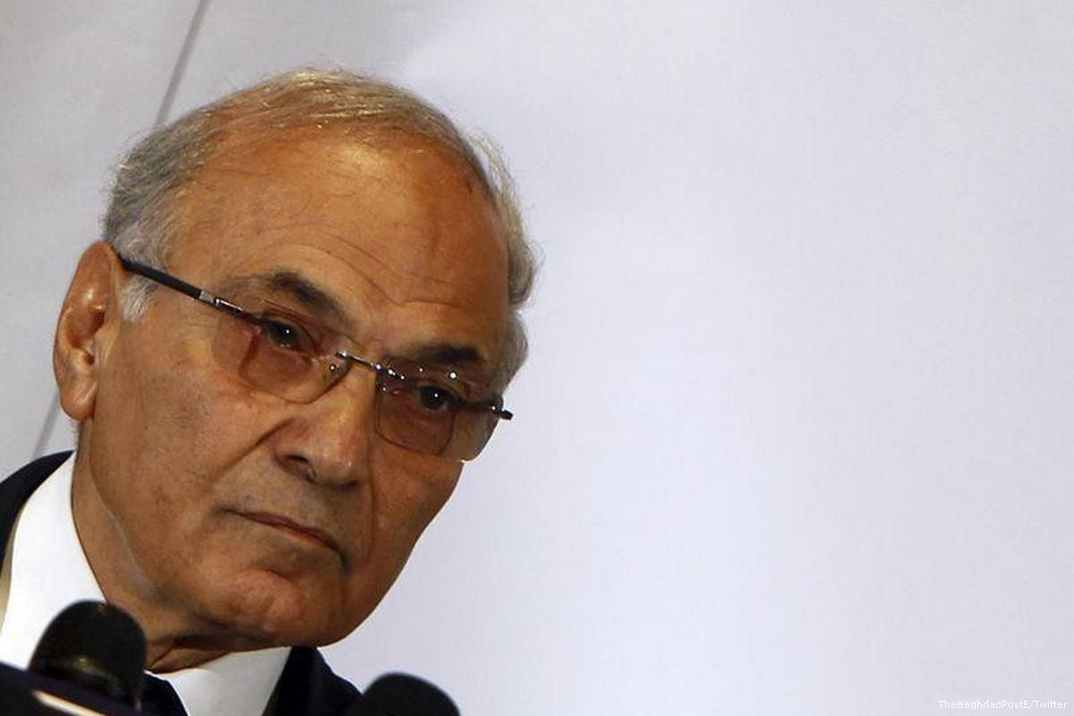 Egyptian presidential candidate Ahmed Shafiq [TheBaghdadPostE/Twitter]