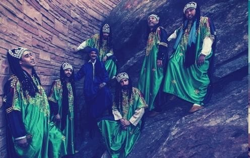 Moroccan band Innov Gnawa has been nominated for an award that the 2018 Grammys [Innov Gnawa /Facebook]