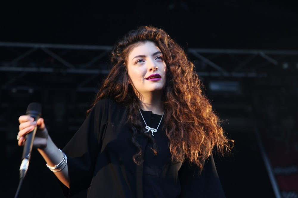 Pop star Lorde performing at Coachella in 2014 [Thomas Hawk/Flickr]