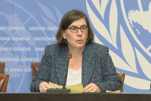 Liz Throssell, spokesperson for the United Nations human rights office (OHCHR) [UN Multimedia]