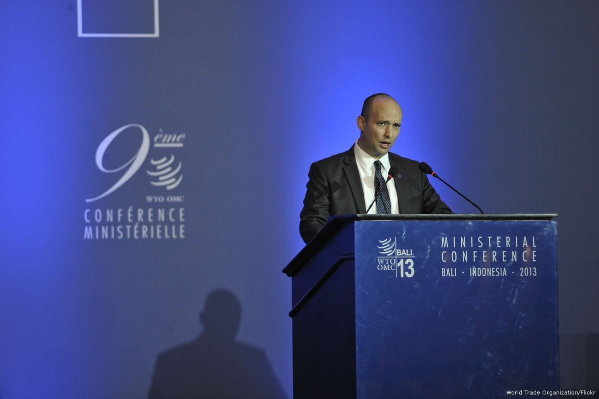 Israeli Education Minister, Naftali Bennett [World Trade Organization/Flickr]