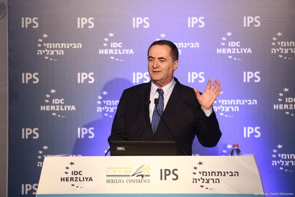 Israeli Minister of Transportation Yisrael Katz [Adi Cohen Zedek/Wikipedia]