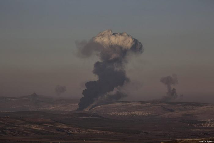 Despite US warning, Turkey shells Syria's Kurdish-held Afrin region