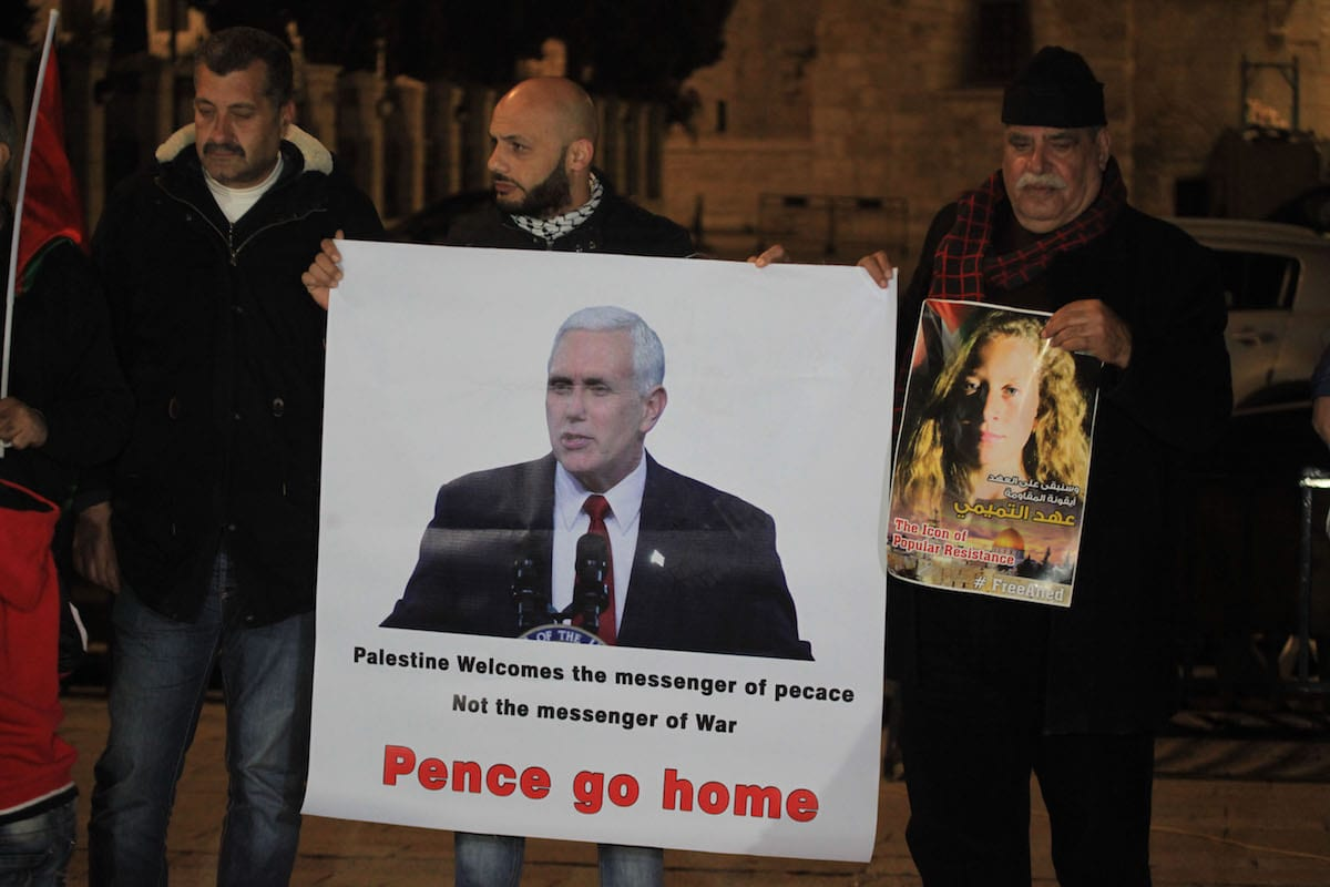 PLO Official Saeb Erekat Calls Pence Speech 'Gift to Extremists'