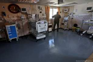 Due to the shortage of fuel, generators at seven health centres in the besieged Gaza Strip have stopped working [Mohammed Asad/Middle East Monitor]