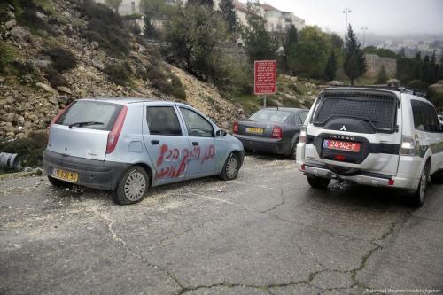 Settlers attack two Palestinian villages in West Bank, Jerusalem