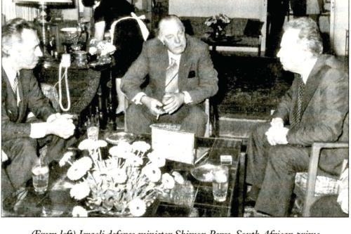 When Israel invited a South African Nazi on a state visit
