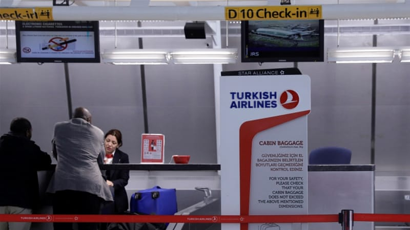 Turkey tells its citizens to reconsider traveling to US