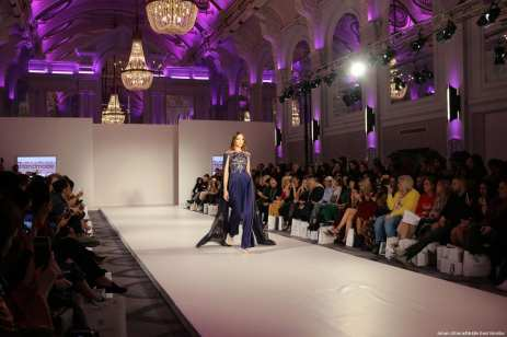 Stories from Arabia exhibits at London Fashion Week 2018 [Jehan Alfarra/Middle East Monitor]