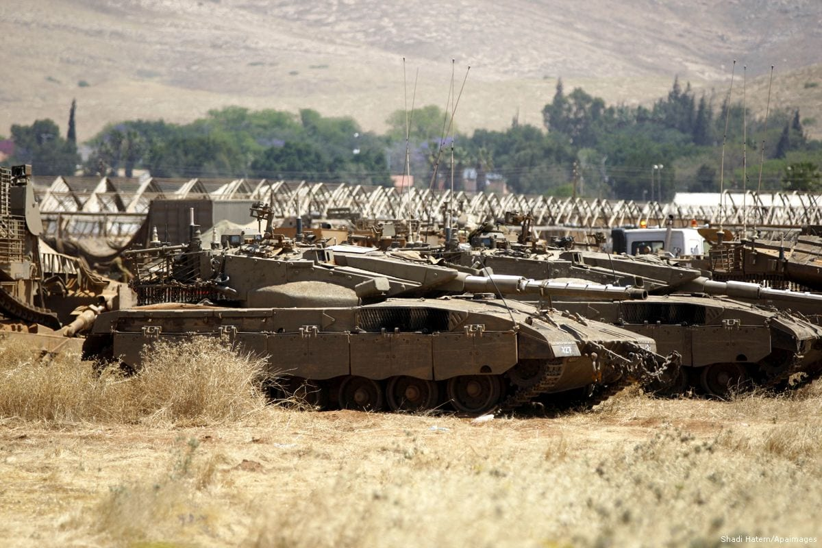 Israel launches military training exercise in Jordan Valley