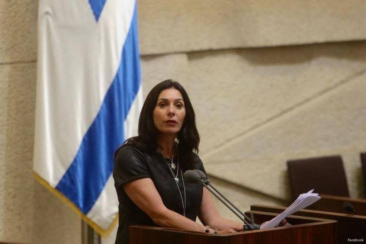 Israeli Culture Minister Miri Regev [Facebook]