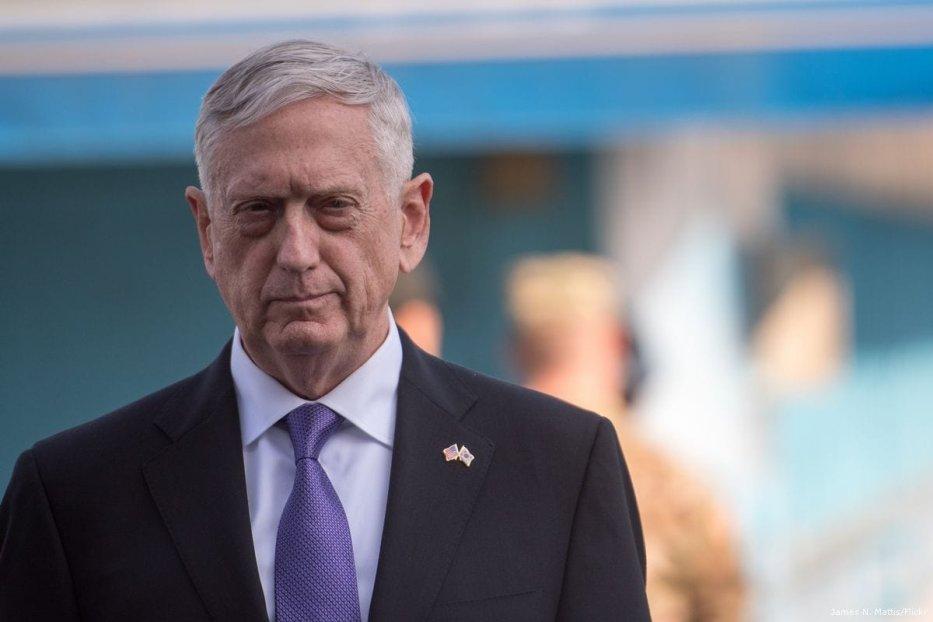 US Secretary of Defence, James Mattis [James N. Mattis/Flickr]