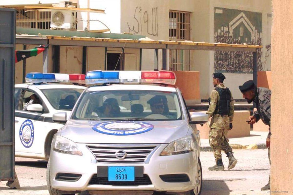 Libyan police [HtewishM/Twitter]