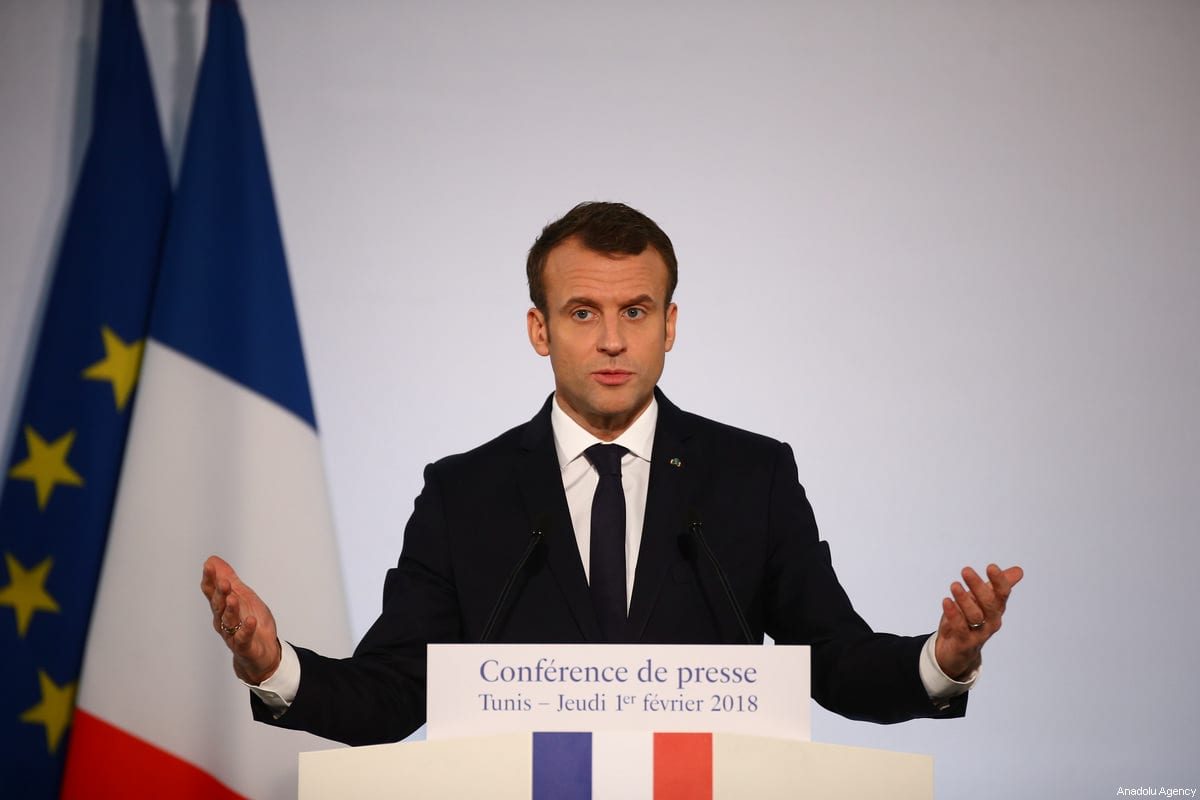 President of France Emmanuel Macron [Yassine Gaidi/Anadolu Agency]