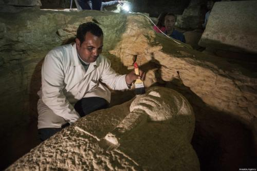 Egypt uncovers ancient necropolis south of Cairo