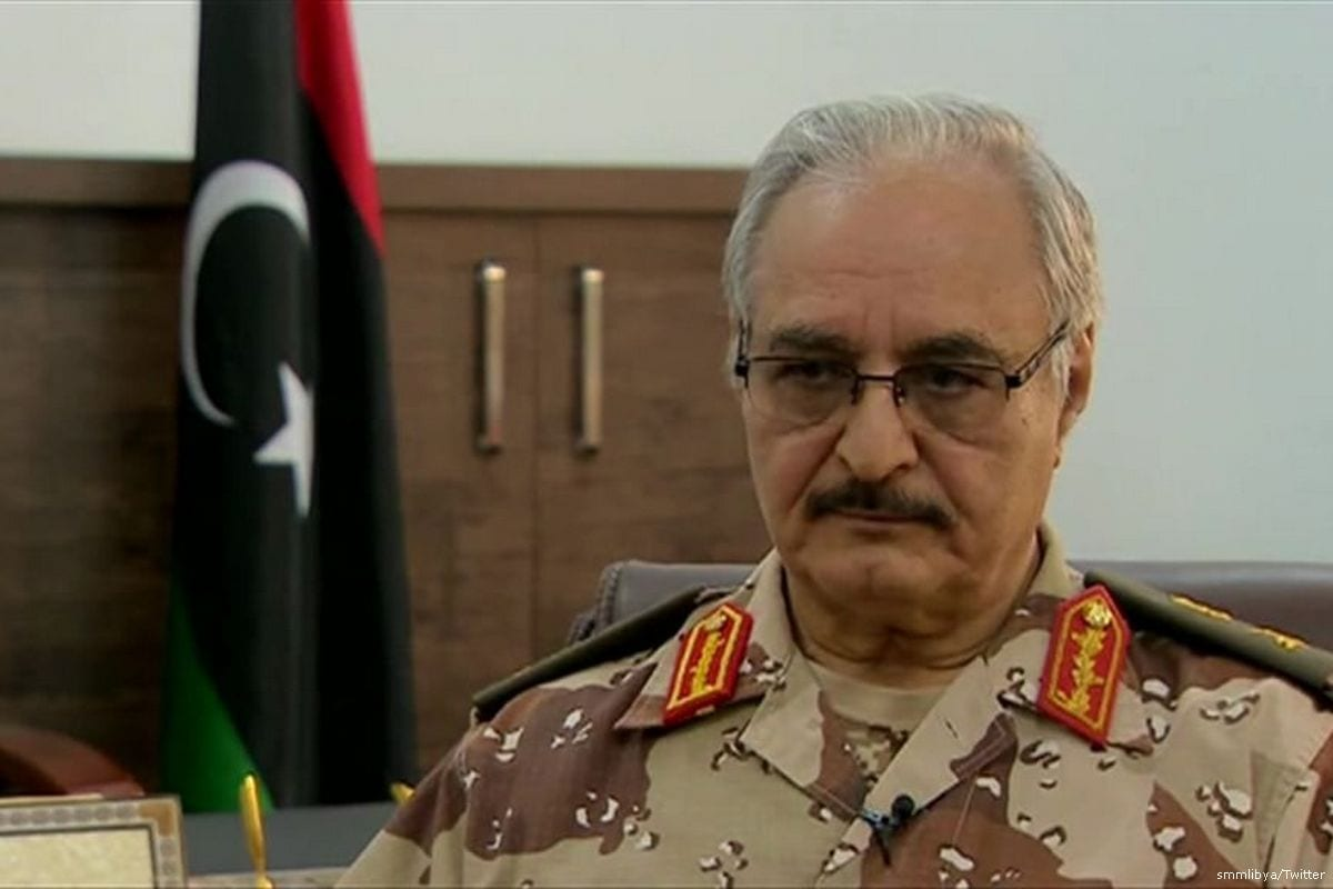 Commander of the Libyan national army and Field Marshal Khalifa Haftar [smmlibya/Twitter]