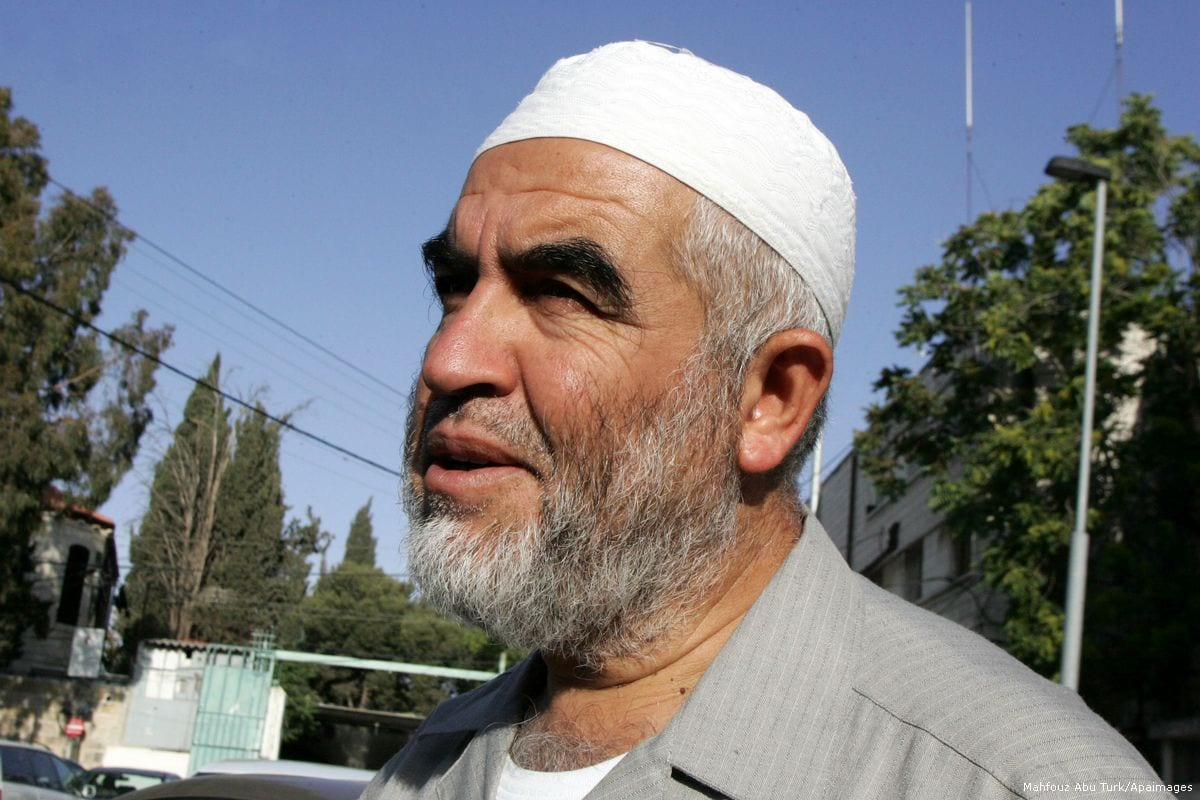 Israel extends solitary confinement of Sheikh Raed Salah